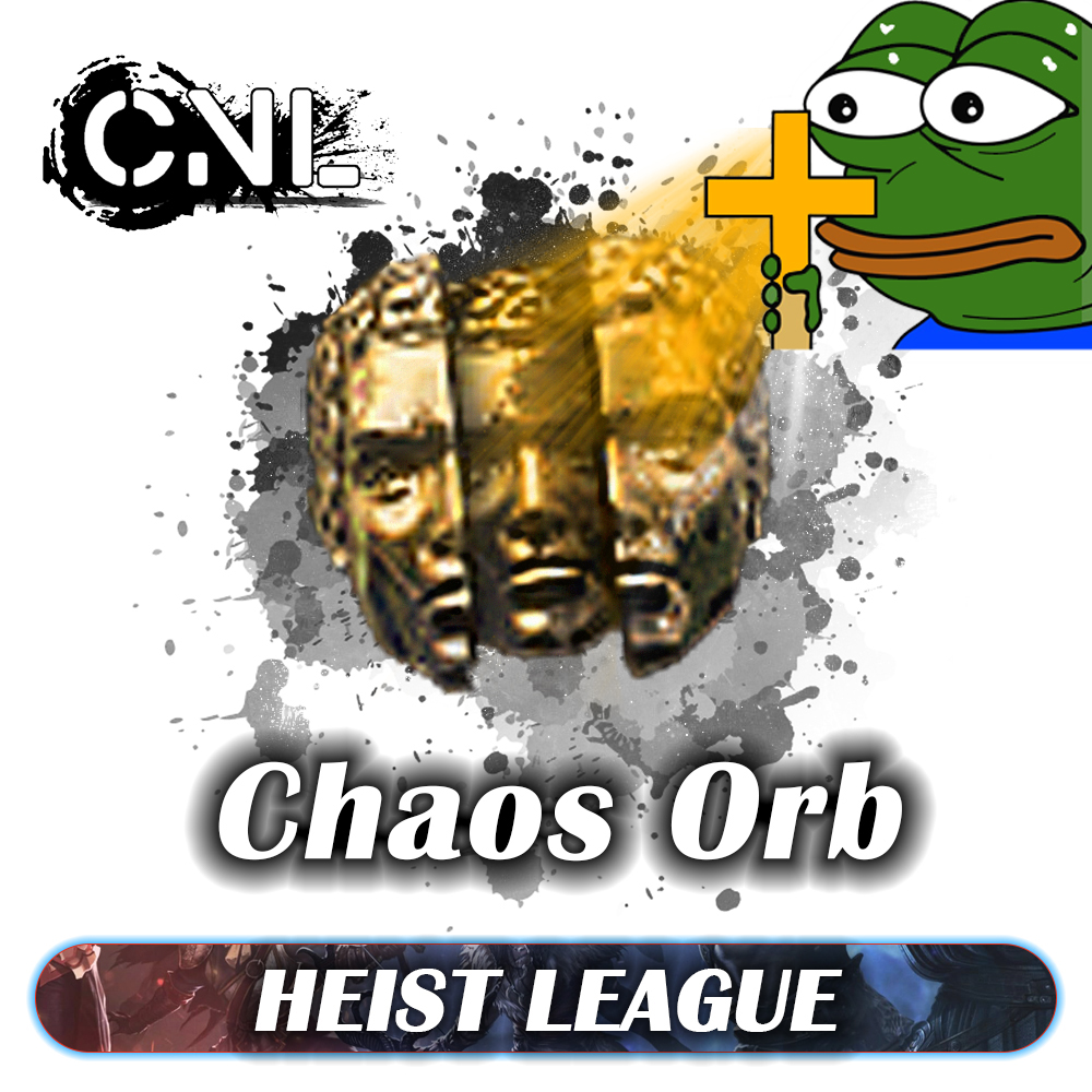 [PC] Chaos orb ★★★ Heist SC ★★★ Delivery 1-5mins ★★★