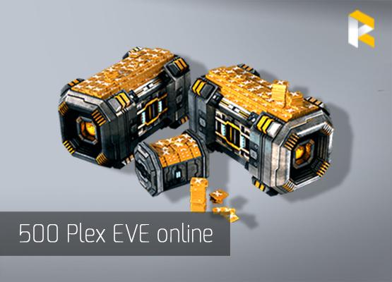 500 Plex eve online fast safe - RPGcash