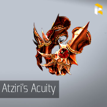 Atziri's Acuity - Life and Mana Leech from Critical Strikes are instant
