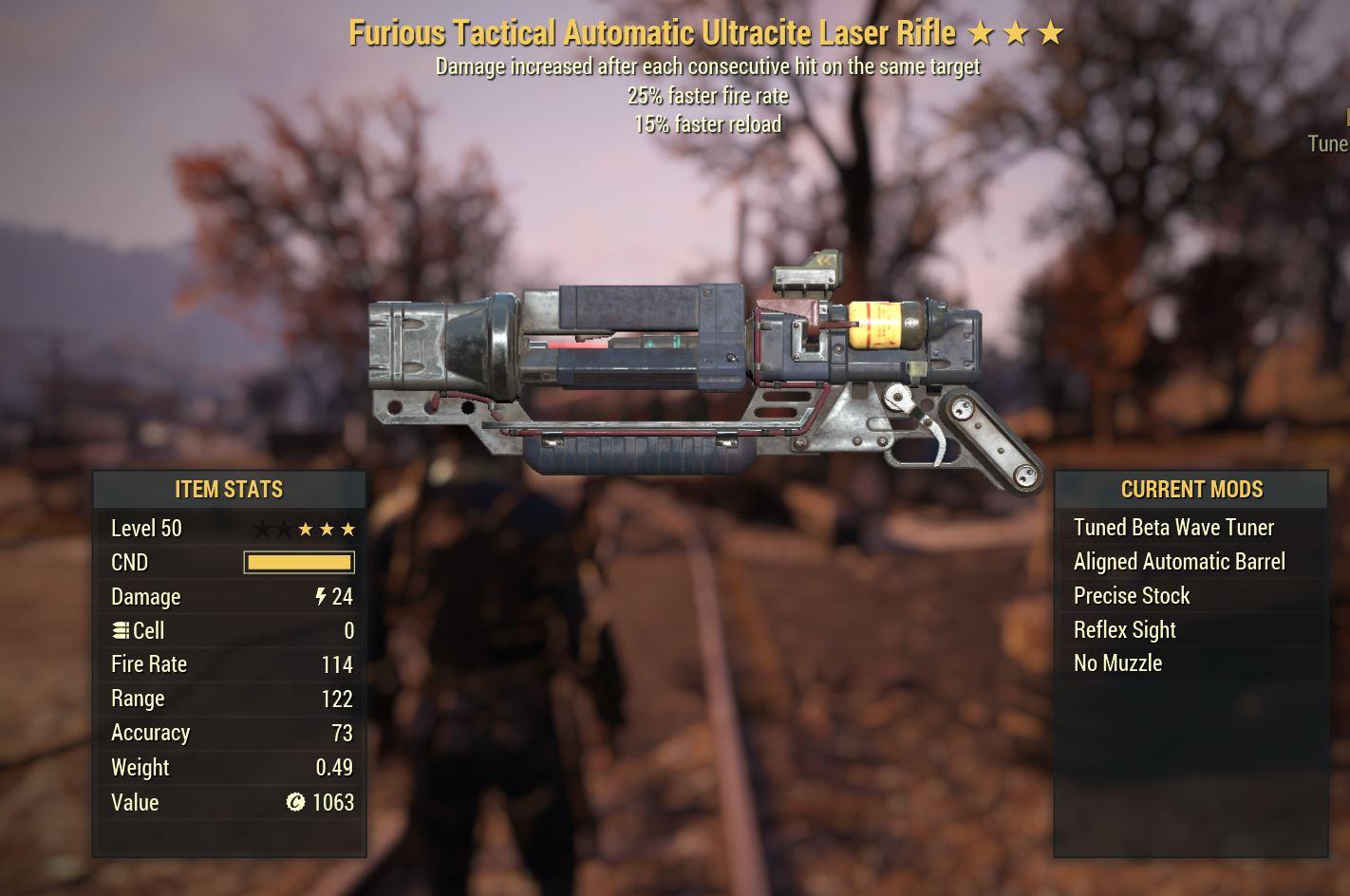Laser Rifle F2515r