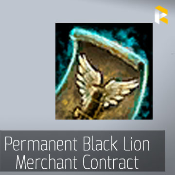 Permanent Black Lion Merchant Contract - EU & US servers