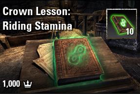 x 10 Crown Lesson: Riding Stamina [NA-PC]