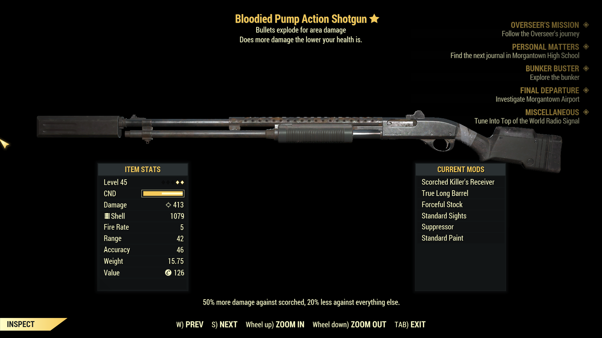 ★★ Bloodied Explosive Pump Action Shotgun | FAST DELIVERY |