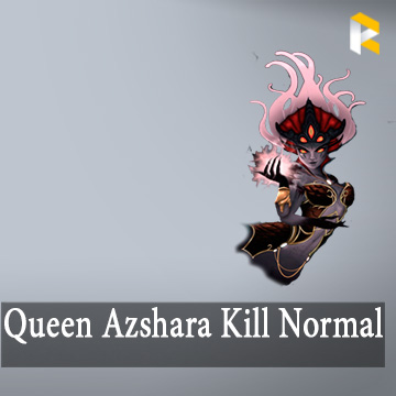 Queen Azshara Kill (Azshara's Eternal Palace - Last Boss) - AEP Normal