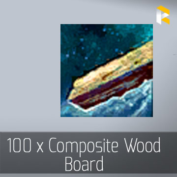 25 x Composite Wood Board - EU & US