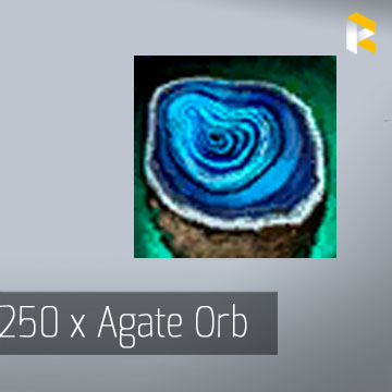 250 x Agate Orb - EU & US servers