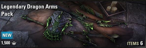 Legendary Dragon Arms Pack [EU-PC]