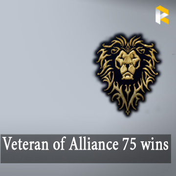 Veteran of the Alliance 75 RBG wins