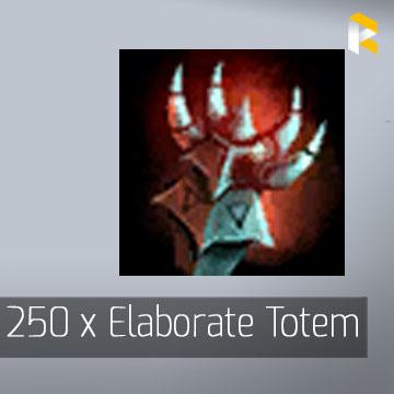 250 x Elaborate Totem - Guild Wars 2 EU & US All Servers - fast & safe