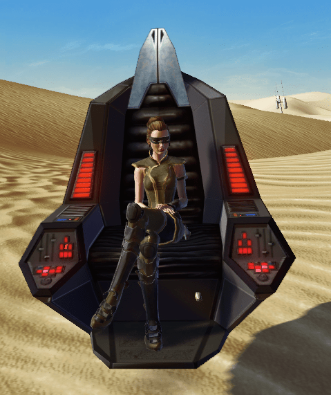 Imperator's Command Hoverchair