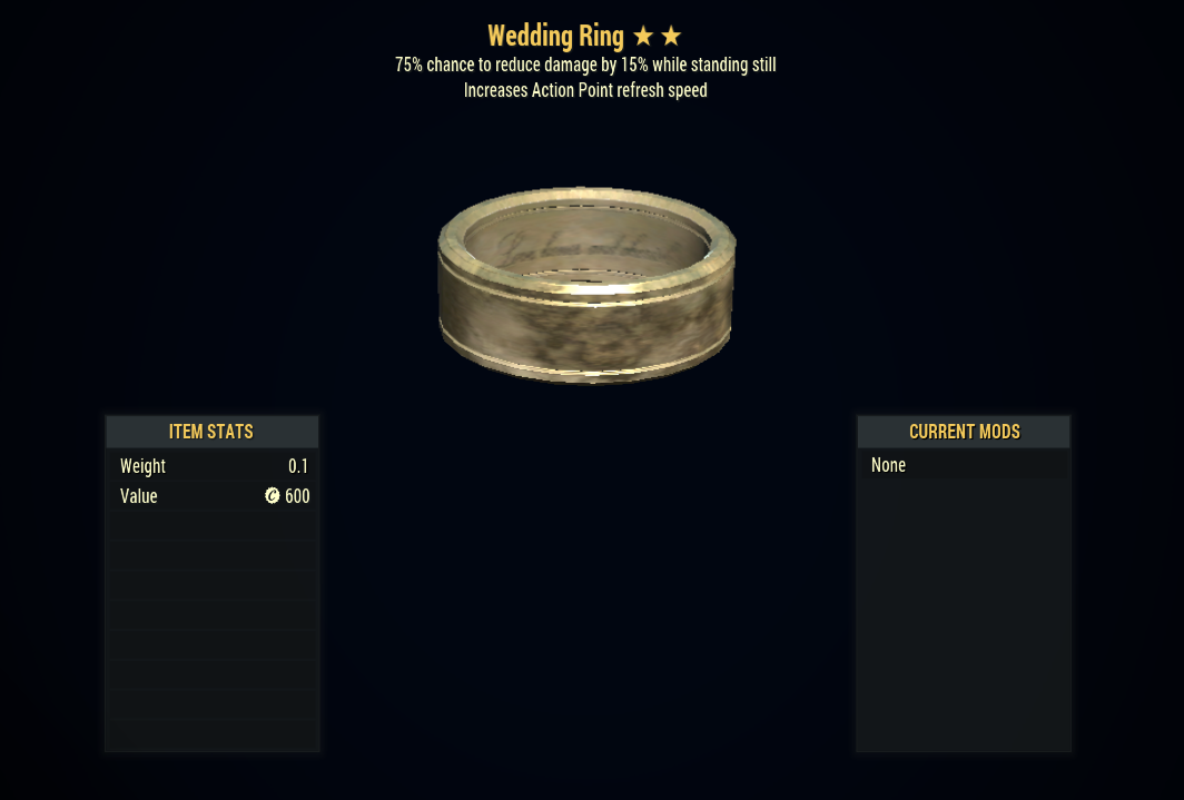 [PC] Wedding Ring (Sentinels + AP Refresh)