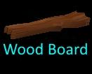 100 Wood Boards (EU - Crimson Sea) - Fast Delivery