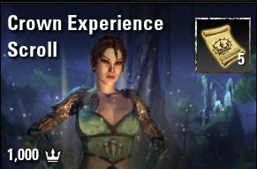 Crown Experience Scroll [EU-PC]