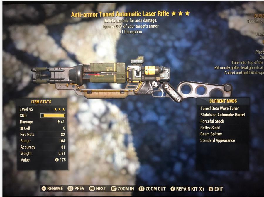Anti-Armor Explosive Laser Rifle [+1perception]