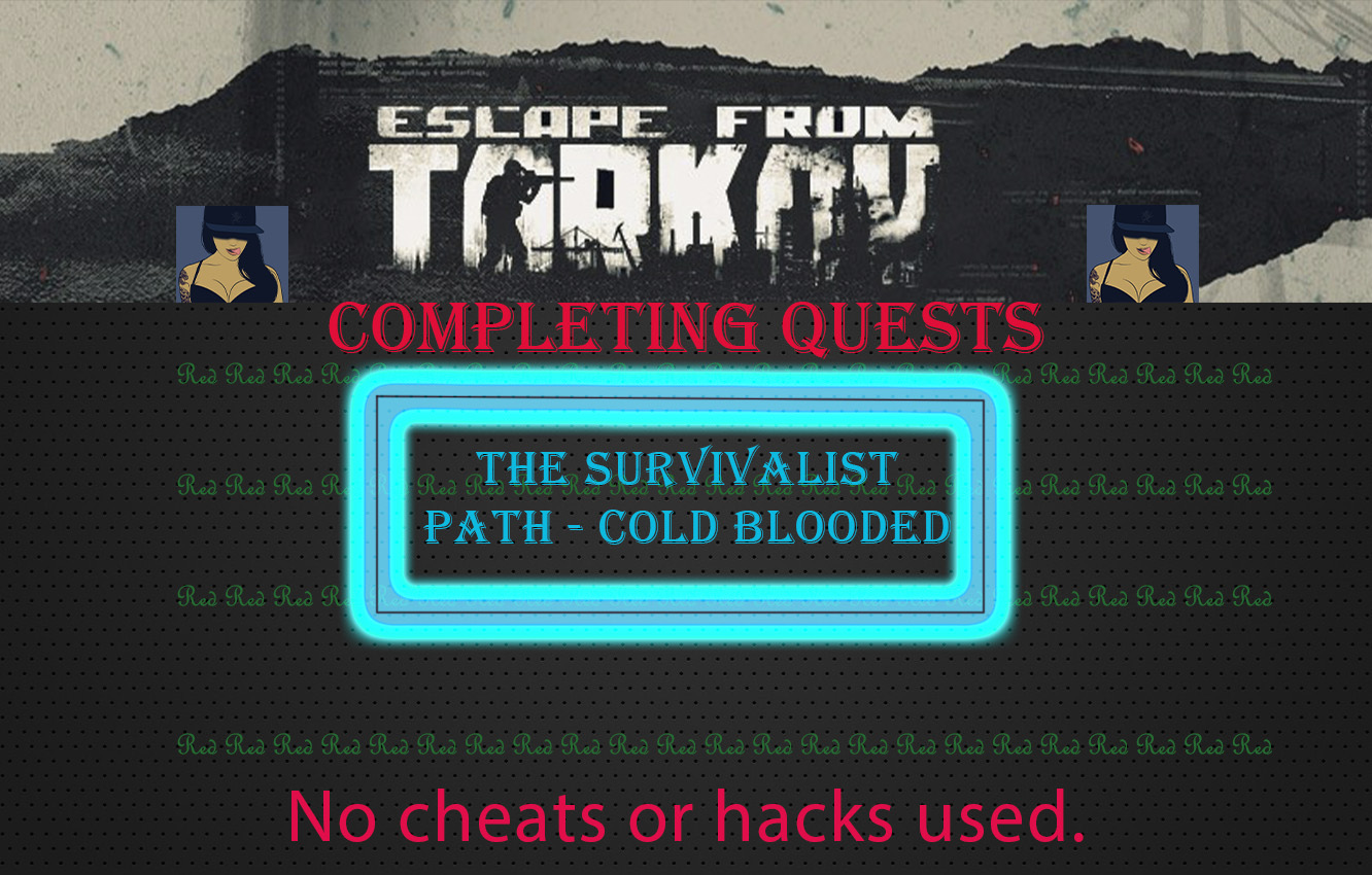 The survivalist path - Cold blooded[Sharing account]