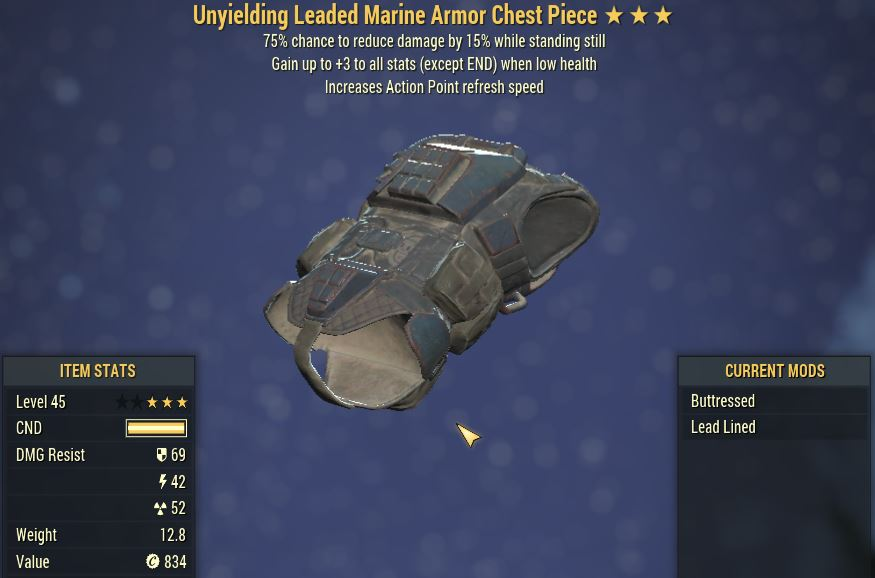 [PC] Full Set Unyielding Sentinel Marine Armor [AP Refresh]