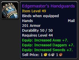 Edgemaster's Handguards