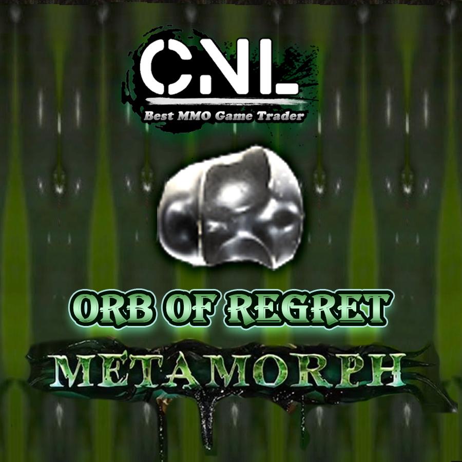 [Metamorph- PC] Regret Orb - Crazy Discount