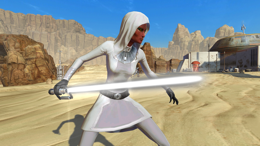 White Color Crystal - SWTOR - fast & safe