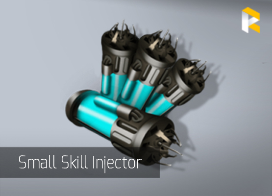 Small skill injector from Eve online