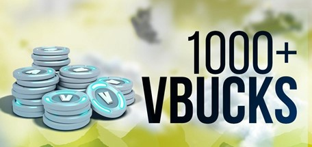 FORTNITE 1000-5000 V-BUCKS Account | WITH WARRANTY | Fast shipping