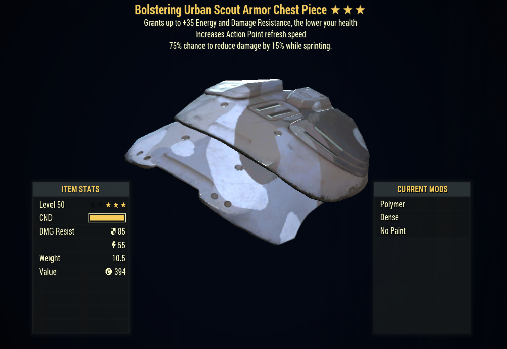 [PC] Bolstering Cavaliers Armor FULL SET + MASK (Urban Scout, 5/5 AP)