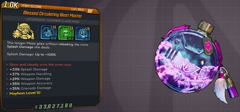 """[PS4] """"Blast Master""""  MAYHEM 10 MODDED OP OR LEGIT ANNOINTED 