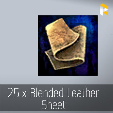 25 x Blended Leather Sheet - EU & US servers
