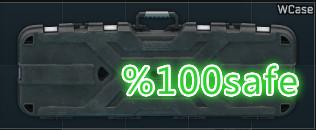 weapon case %100 safe