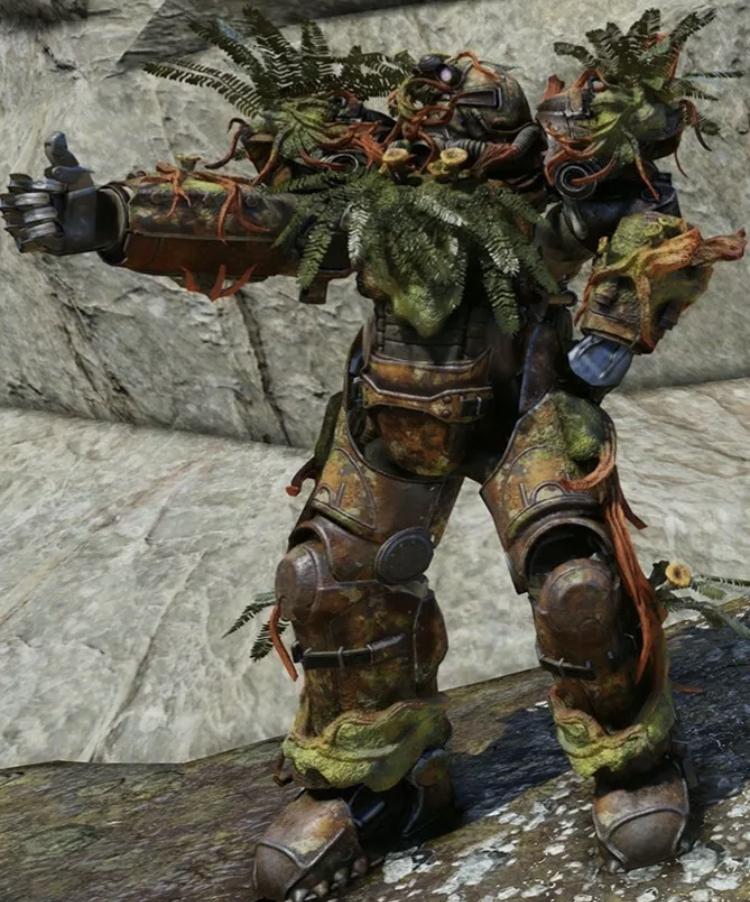 strangler heart power armour full set