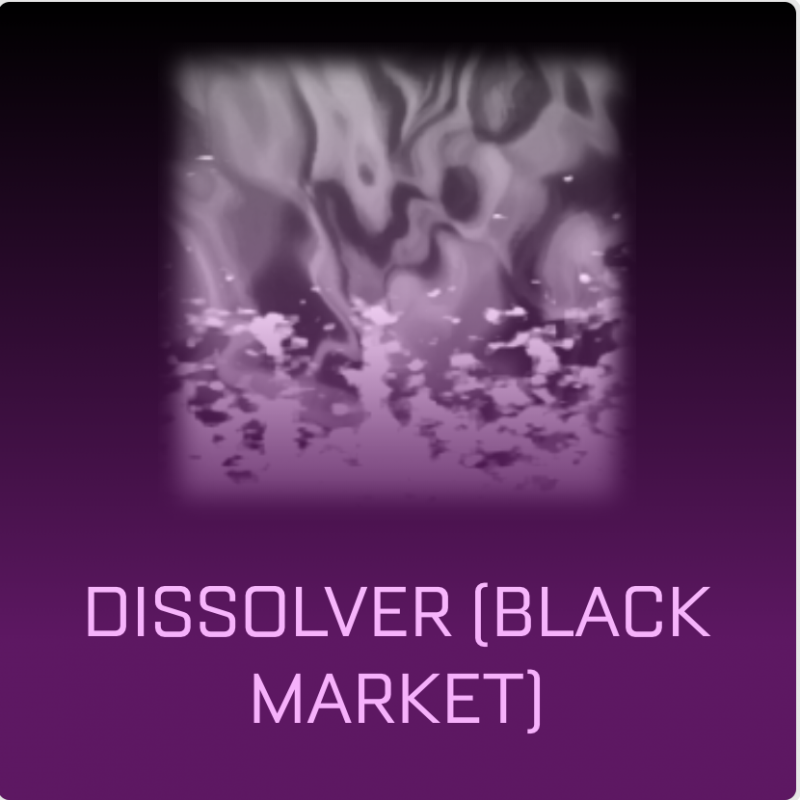 [PC] Dissolver Black Market Decal