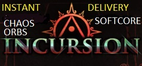 CHAOS Orb - Incursion Standard(Softcore) - Instant delivery!