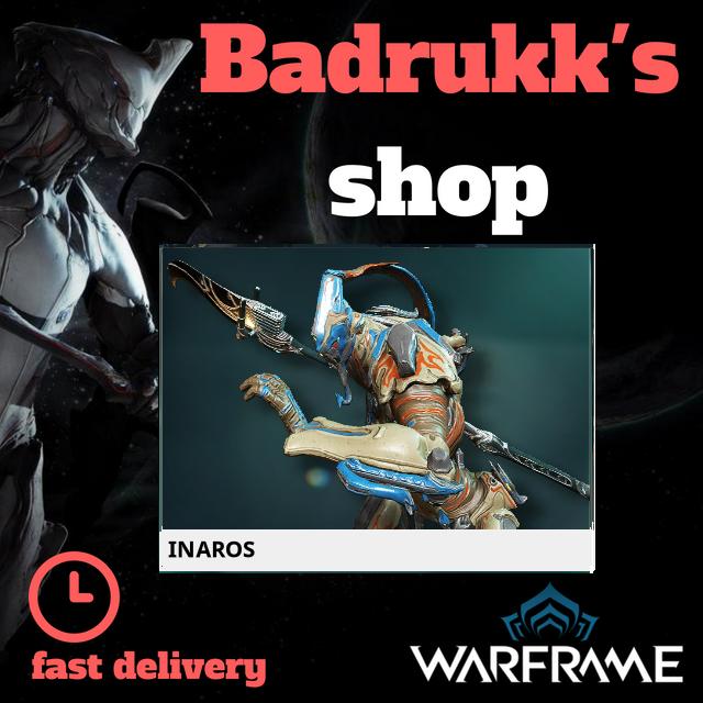 [PC/Steam] Inaros Warframe + Slot + Orokin Reactor // Fast delivery!