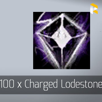 100 x Charged Lodestone - Guild Wars 2 EU & US All Servers - fast & safe