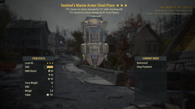 Full set of Sentinel's Marine Armor 3*