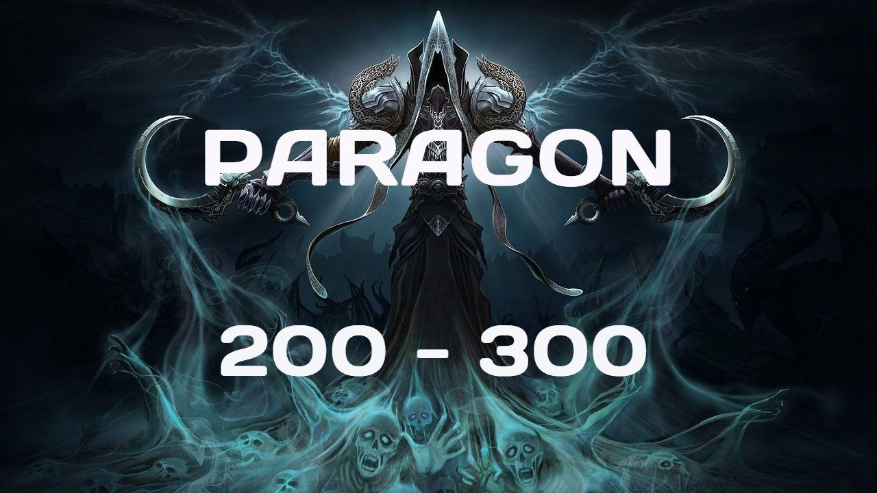 Season 16 EU. Paragon Leveling 200-300