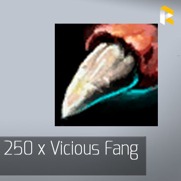 250 x Vicious Fang - Guild Wars 2 EU & US All Servers - fast & safe