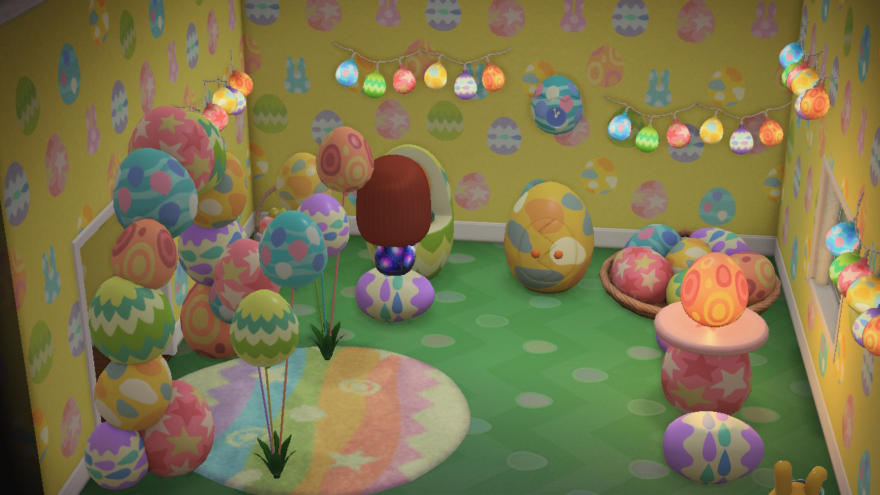Animal Crossing New Horizons Furniture Bunny Day Stuff Easter Day Items