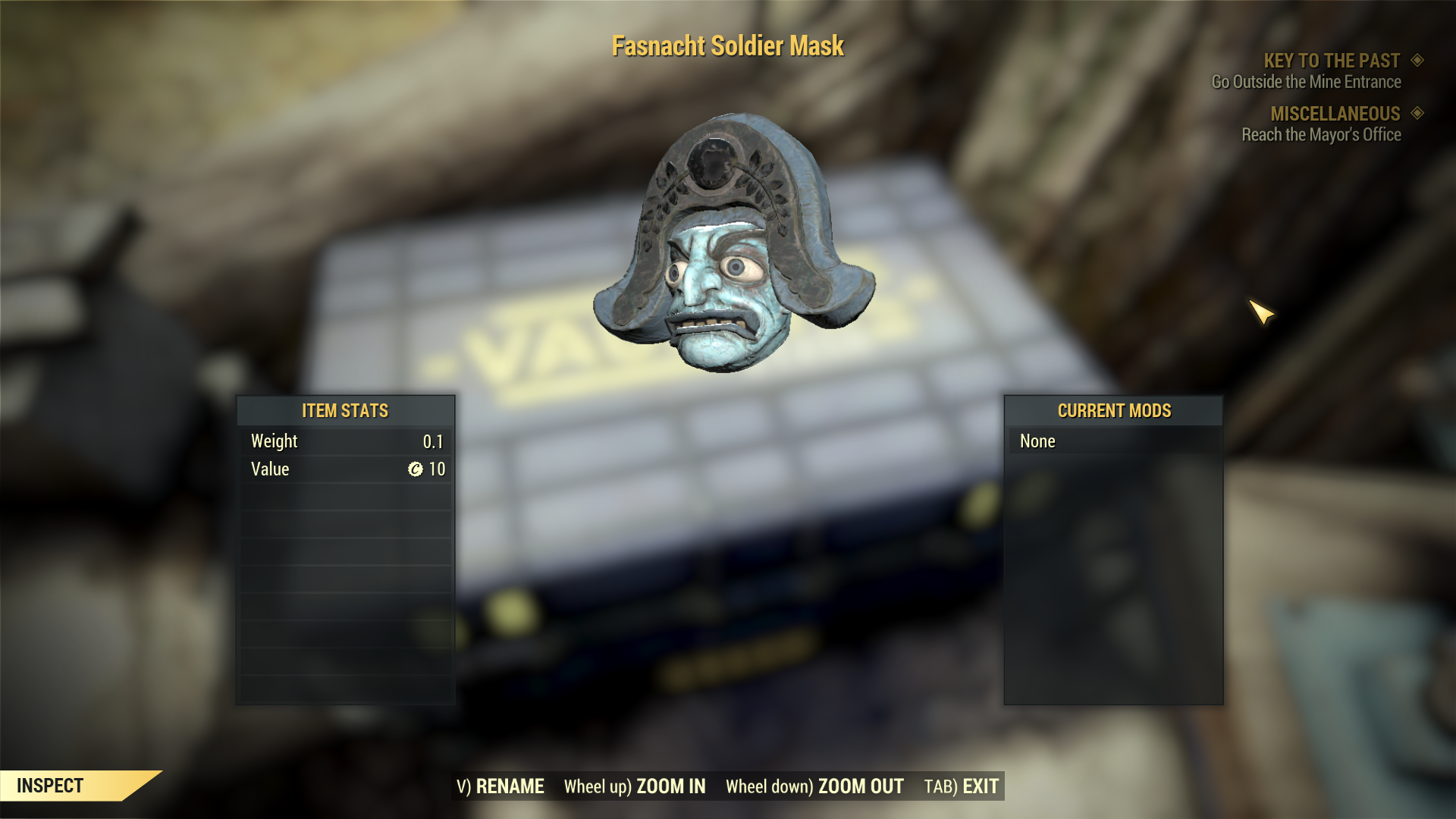 [Rare outfit] Fasnacht Soldier Mask