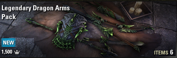 Legendary Dragon Arms Pack [NA-PC]