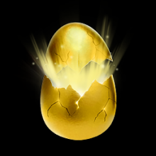 [PC] GOLDEN EGG. FAST DELIVERY. NO KEY NEEDED TO OPEN.