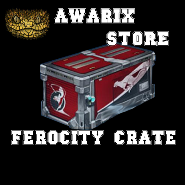 [PC] FEROCITY CRATE. FAST DELIVERY