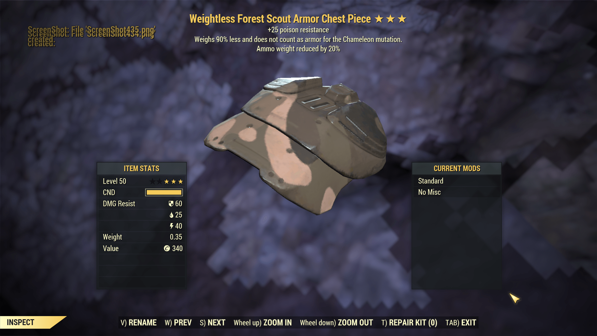 ★★★ Weightless Weight Reduction Scout Armor SET [ENDGAME] | FAST DELIVERY |