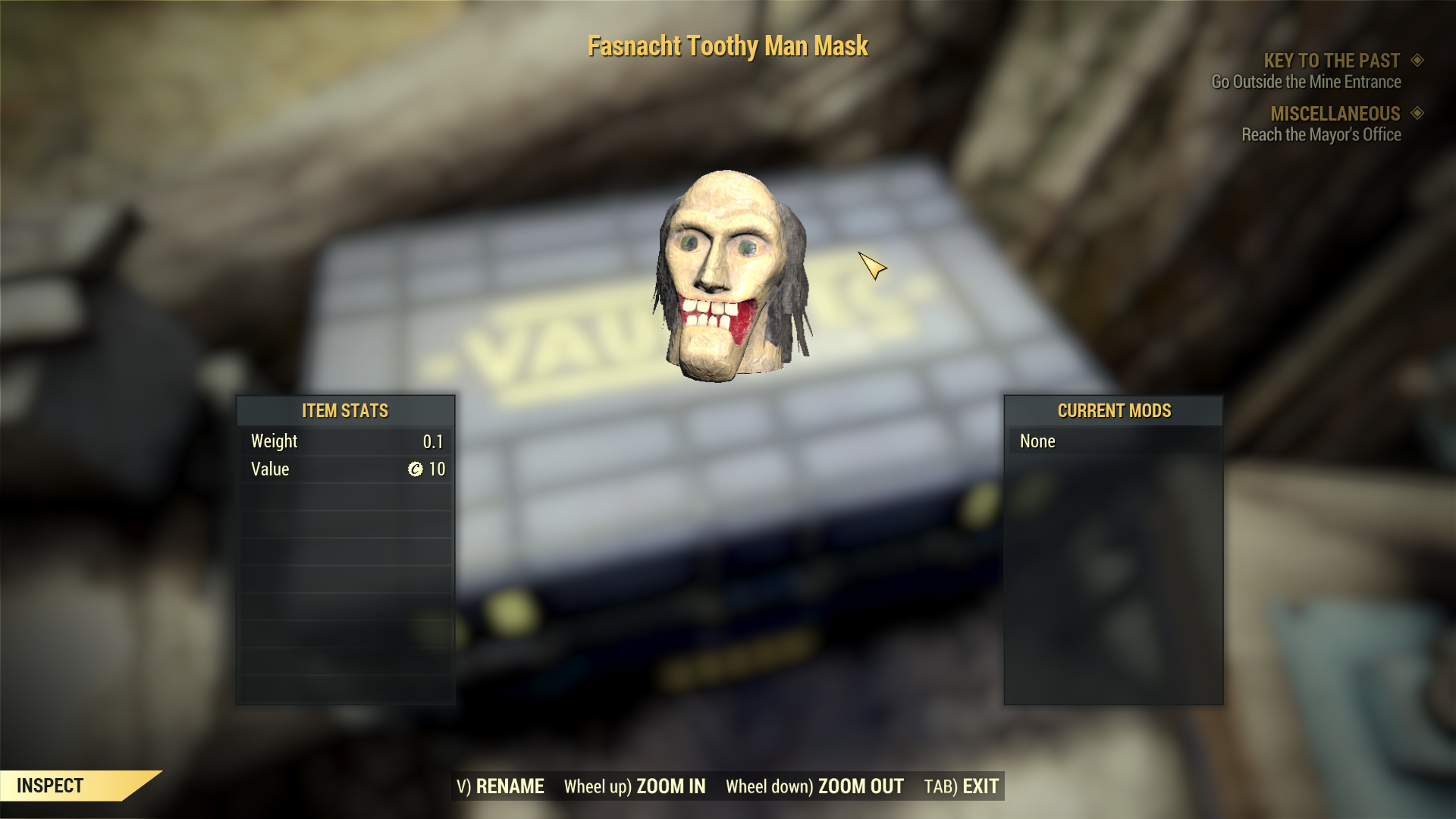 [Rare outfit] Fasnacht Toothy Man Mask