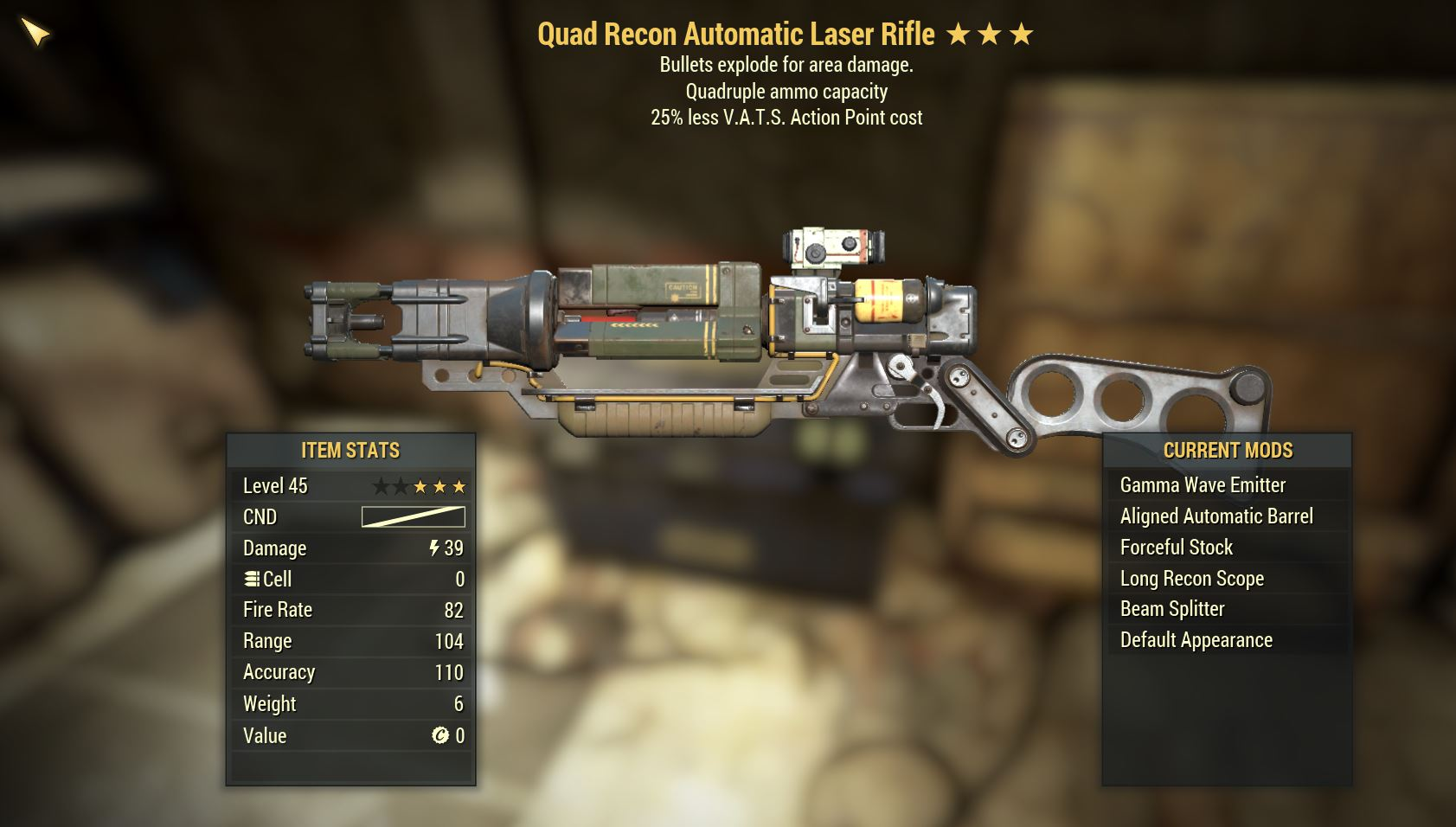 Laser Rifle QE25