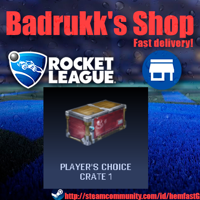 [PC/Steam] Player's Choice crate + bonus crates // Fast delivery!