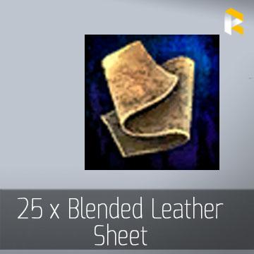 25 x Blended Leather Sheet - EU & US servers