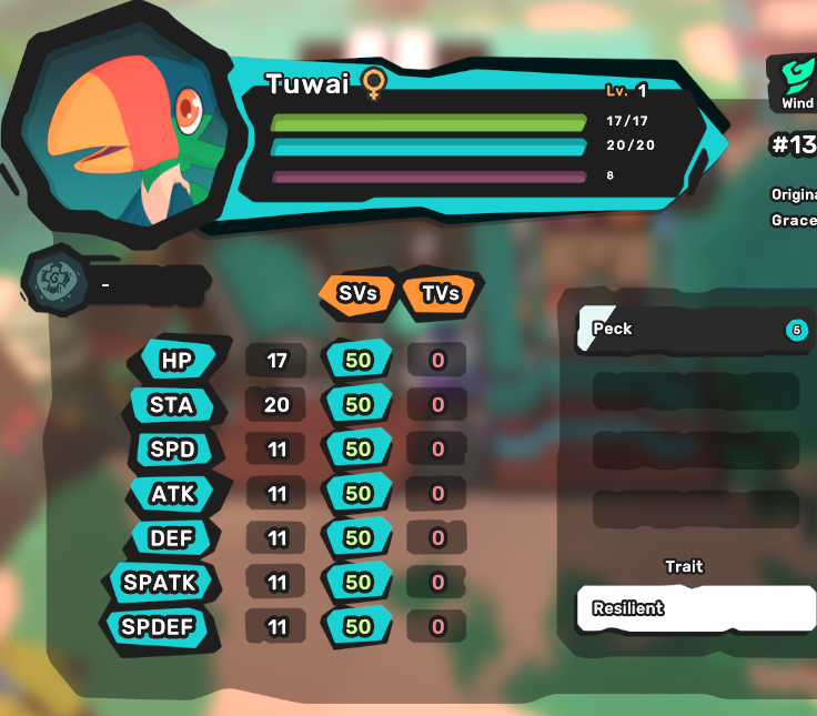 Tuwai - Resilient/Spoilsport - Perfect SV 7/7 - Level 1 - Instant Delivery