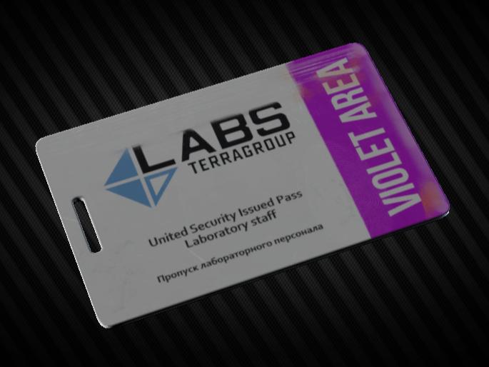 Lab. Violet keycard Instant delivery