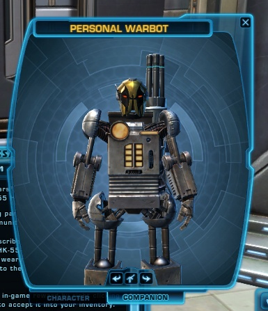 Personal Warbot